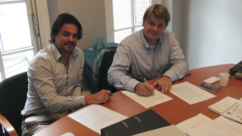 In Ovo signs investment Leiden University