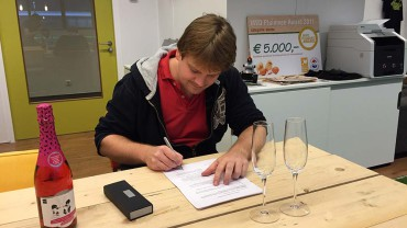 In Ovo signs contract with Universiteit Leiden