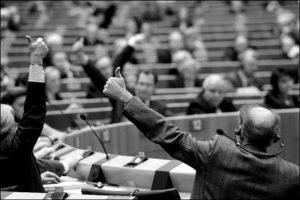 EU Parliament vote - Photo: European Cyclists' Federation / CC BY 2.0