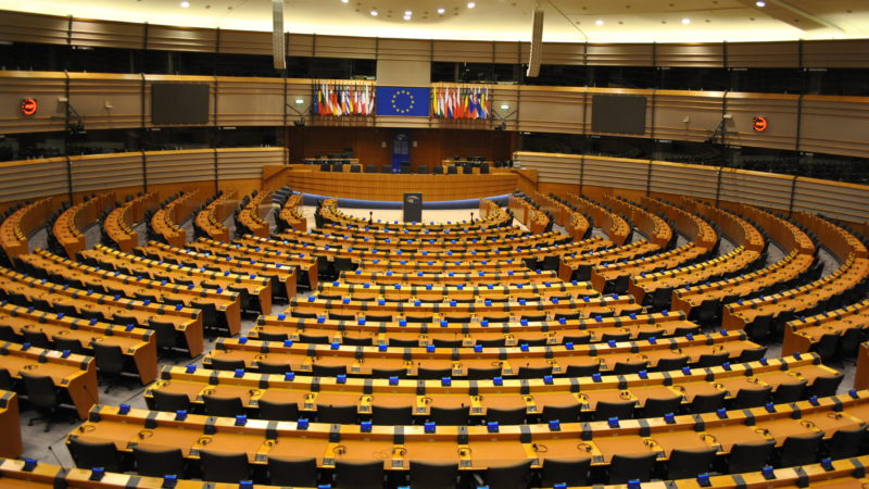 European Parliament hemicycle - Photo: Robyn Mack / CC BY 2.0